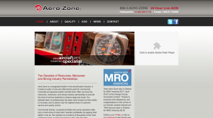 Old Aero-Zone site shot